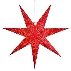 Star Trading Dot Joulutähti Punainen 100 Cm
