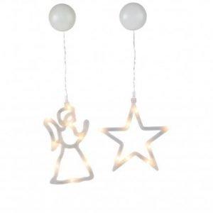 Star Trading Ikkunan Joulukoriste Enkeli+TÄhti