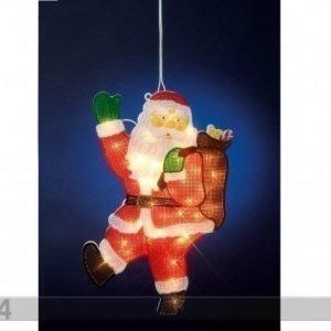 Star Trading Ikkunan Joulukoriste Santa