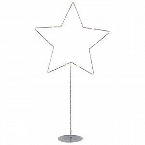 Star Trading Jalallinen Tähti Kromi 31x60 Cm