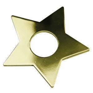 Star Trading Kynttilämansetti Tähti Messinki 7-Pakkaus