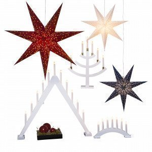 Star Trading Kynttilänjalka Valkoinen 10x78 Cm