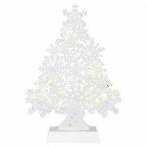 Star Trading Pöytäkoriste Valkoinen 7x23 Cm