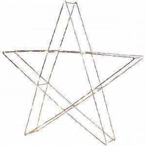 Star Trading Pöytätähti Kromi 45x43 Cm