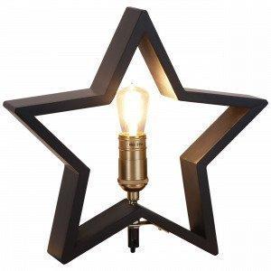Star Trading Pöytätähti Musta 30x29 Cm