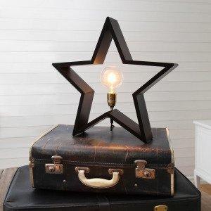 Star Trading Pöytätähti Musta 50x48 Cm