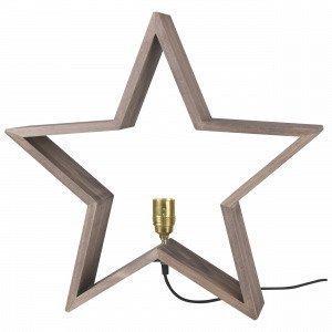 Star Trading Pöytätähti Ruskea 50x48 Cm