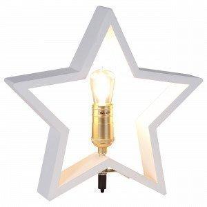 Star Trading Pöytätähti Valkoinen 30x29 Cm