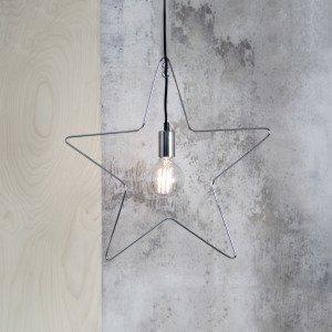 Star Trading Tähti Kromi 52x50 Cm