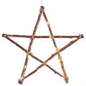 Star Trading Tähti LED Ruskea
