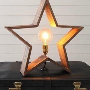 Star Trading Tähti Lysekil 52cm Ruskea