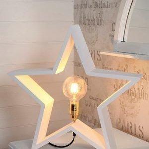 Star Trading Tähti Lysekil 52cm Valkoinen