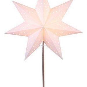Star Trading Tähti ja jalusta Valkoinen