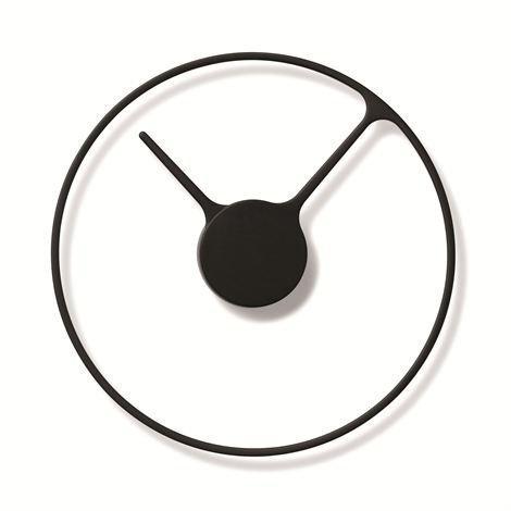 Stelton Time Kello Ø 30 cm Musta