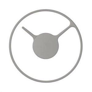Stelton Time Kello Medium Aluminium / Harmaa