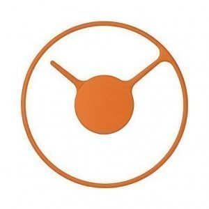 Stelton Time Kello Medium Aluminium / Orange