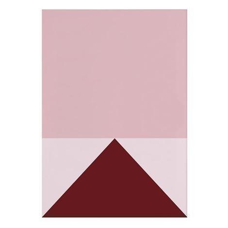 Studio Esinam Colors Juliste 70x100 cm No.1 Vaaleanpunainen