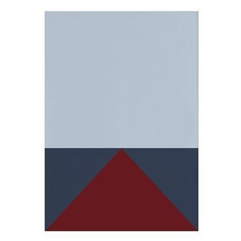 Studio Esinam Colors Juliste 70x100 cm No.3 Sininen-Punainen