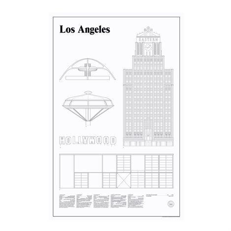 Studio Esinam Elevations Juliste 65x100 cm Los Angeles
