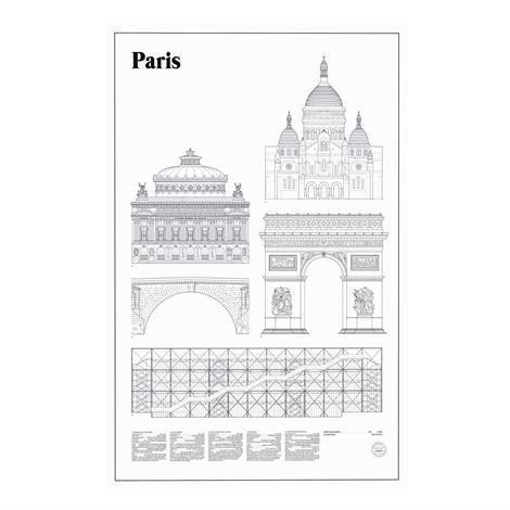 Studio Esinam Elevations Juliste 65x100 cm Paris