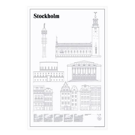 Studio Esinam Elevations Juliste 65x100 cm Stockholm