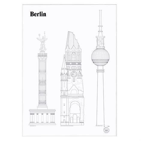 Studio Esinam Landmarks Juliste 50x70 cm Berlin