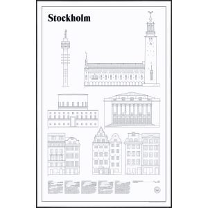Studio Esinam Stockholm Elevations Juliste