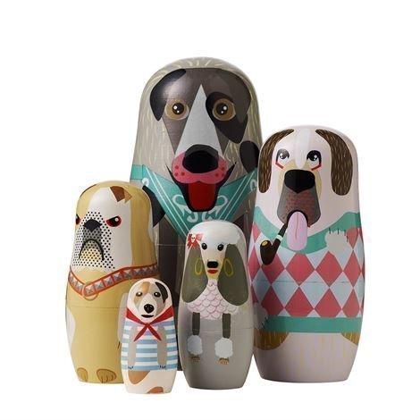 Superliving Dog Family Maatuskanuket 5 kpl