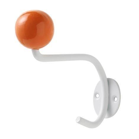 Superliving Koukku 1 Valkoinen-Oranssi