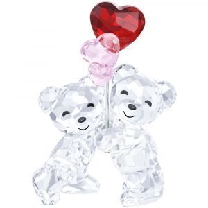 Swarovski Kris Bear Heart Balloons