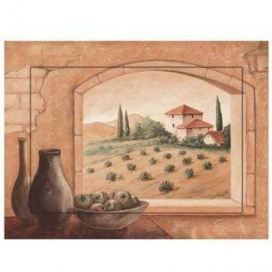 Taulu Toscana Monivärinen