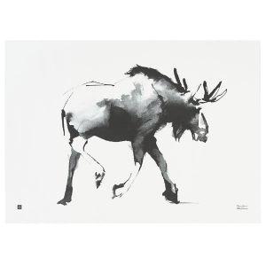 Teemu Järvi Illustrations Hirvi Juliste 70x50 Cm