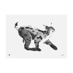 Teemu Järvi Illustrations Ilves Juliste 70x50 Cm