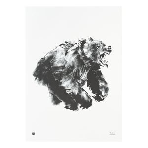 Teemu Järvi Illustrations Karhu Juliste 50x70 Cm