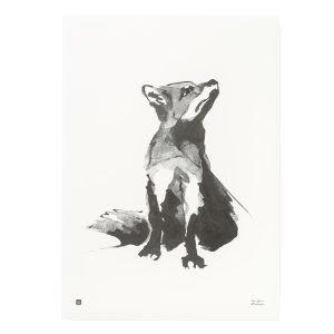 Teemu Järvi Illustrations Kettu Juliste 50x70 Cm