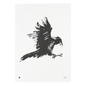 Teemu Järvi Illustrations Korppi Juliste 50x70 Cm