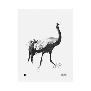 Teemu Järvi Illustrations Kurki Juliste 30x40 Cm