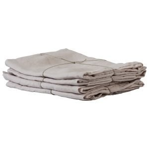 Tell Me More Washed Linen Tyynyliina Tomuinen Pinkki 50x70 Cm