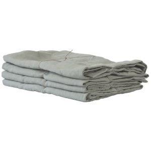 Tell Me More Washed Linen Tyynyliina Tomuinen Vihreä 50x70 Cm