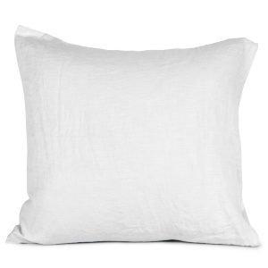 Tell Me More Washed Linen Tyynynpäällinen Valkoinen 50x50 Cm