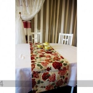 Tg Globeliinikangas Pöytäliina Ruusut 44x140 Cm
