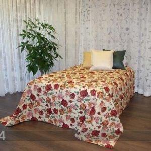 Tg Gobeliinikankainen Päiväpeitto Ruusut 240x240 Cm