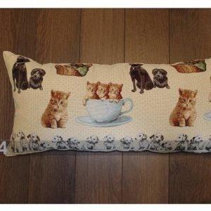 Tg Rullatyyny Gobeliinikankaasta Kissat-Koirat 35x70 Cm