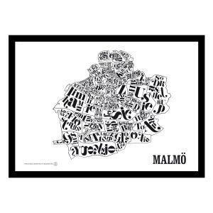 Tgioc Malmön Kartta Juliste