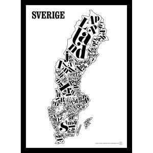 Tgioc Ruotsi Kartta Juliste