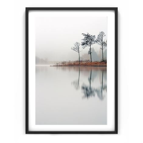 The Nordic Poster Autumn By The Lake Juliste 50x70 cm