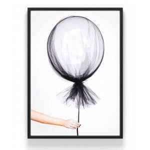 The Nordic Poster Balloon Juliste Musta 50x70 Cm
