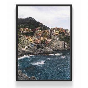 The Nordic Poster Cinque Terre Juliste Sininen 50x70 Cm