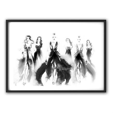 The Nordic Poster Dresses Juliste 50x70 cm