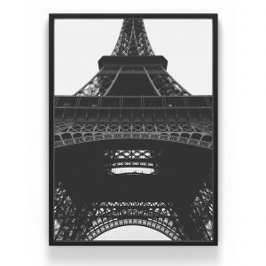 The Nordic Poster Eiffeltower Juliste Harmaa 50x70 Cm